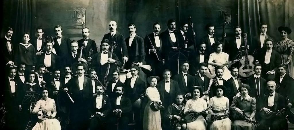 Η Αθηναϊκή Μαντολινάτα το 1910